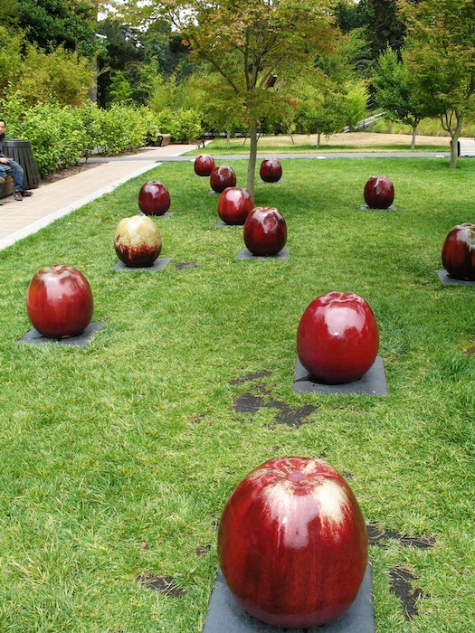 Apple Spill by Allan Ferguson courtesy of Wikimedia Commons.