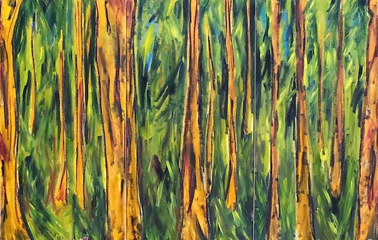 Memories of the Forest by Racquel Keller. Courtesy of the artist.