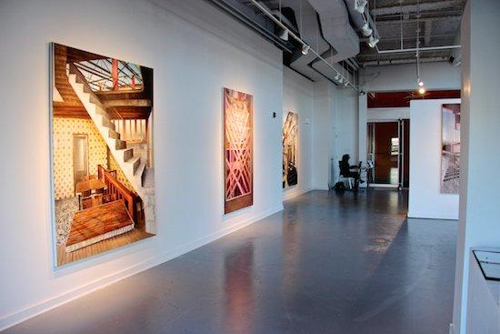 Photo of Gibbs Street Gallery. Courtesy of VisArts at Rockville.