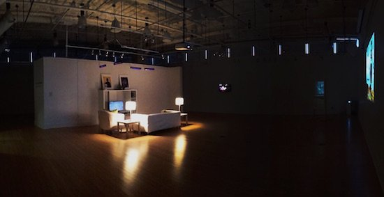 Photo of Kaplan Gallery. Courtesy of VisArts at Rockville.