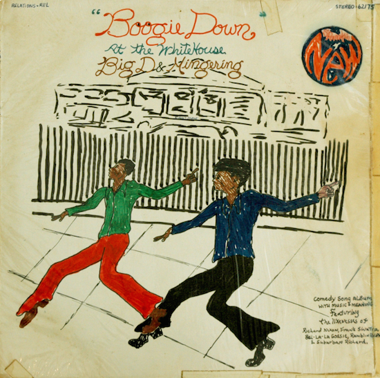 """Mingering Mike, """"Boogie Down"""" at the White House, Big D & Mingering, 1975, Smithsonian American Art Museum Gift of Mike Wilkins and Sheila Duignan and museum purchase through the Luisita L. and Franz H. Denghausen Endowment © Mingering Mike"""