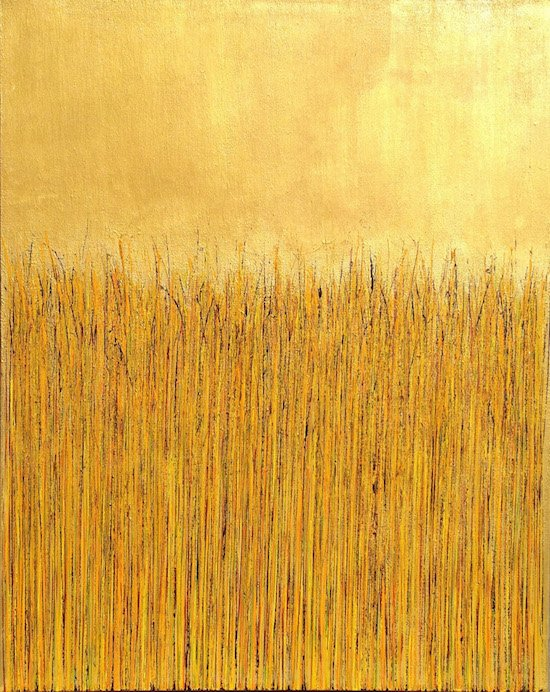 Gold by Mary D. Ott. Courtesy of Touchstone Gallery.