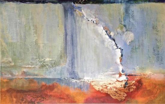 """Andrei Petrov, Istanbul, 30""""x48"""", oil on canvas. Courtesy of Morton Fine Art."""