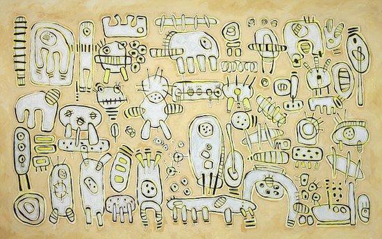 Mucho Personje, by Marta Luz Guittierez. Photo courtesy of All We Art.