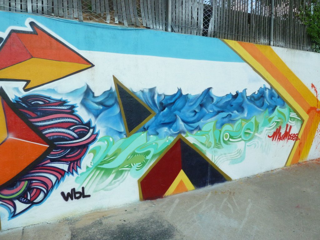 2 Portion of Maxx Moses' Mural