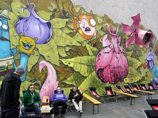 """Graffiti Berlin Kreuzberg Maybachufer 2012"" by Finn-johs - Own work. Licensed under CC0 via Wikimedia Commons - http://commons.wikimedia.org/wiki/File:Graffiti_Berlin_Kreuzberg_Maybachufer_2012.jpg#/media/File:Graffiti_Berlin_Kreuzberg_Maybachufer_2012.jpg."