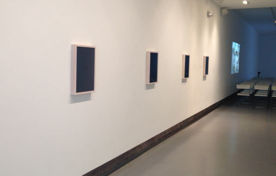 Whitewashed #1, #2, #3, #4, 2015 15.5 x 21 x 2 inches plexiglass, wood frame Photo for East City Art by Eric Hope.