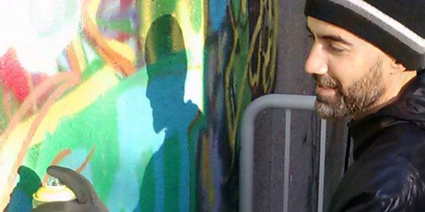 Graffiti Class with Brookland Artist Rajan Sedalia