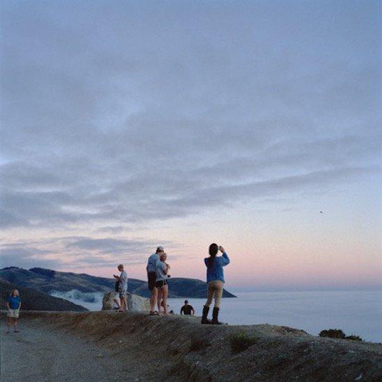 """Kim Llerena, Big Sur, CA (photographers, 2), 2015, digital C-print, 19x19"""". Courtesy of VisArts."""