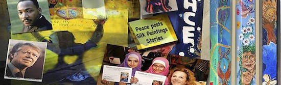 Photo courtesy of Posts For Peace & Justice Project and Corner Store Art Center.