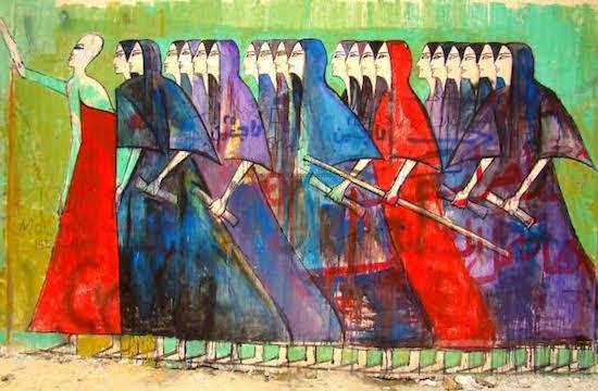 Photo courtesy of the Jerusalem Fund Gallery Al-Quds.