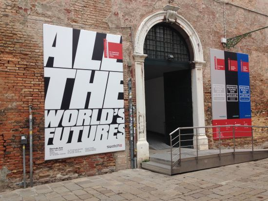 Entrance to the Venice Biennale. Photo for East City Art by Eric Hope