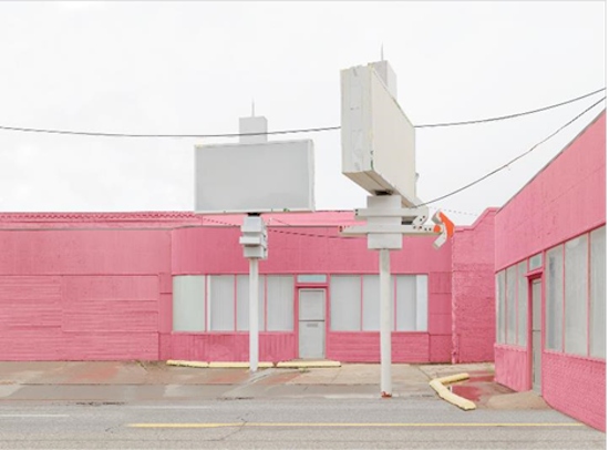 """Leigh Merrill, This Place, 2015. Archival pigment print. 25""""x32"""". Courtesy of Target Gallery."""