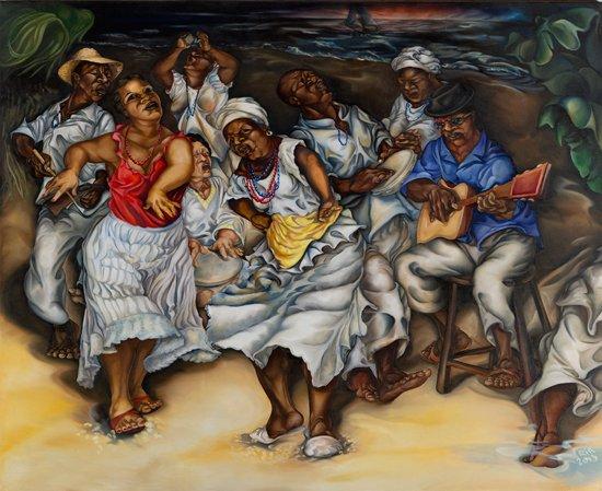 Samba na Praia From the Bahia Series. Photo credit: Kristian Whipple
