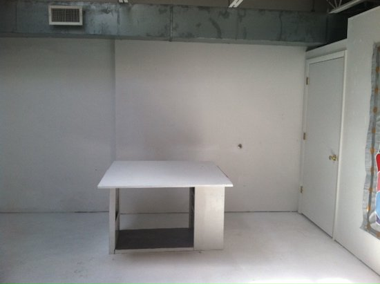 Photo of current space courtesy of Passageways Artists Studios.