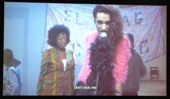 Need Title 20__ (video still) Cabello/Carceller; Spanish Pavilion Photo for East City Art by Eric Hope.