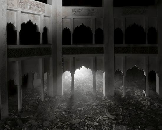 The Ashes Series: Dark Palace, 2003-2013 Wafaa Bilal Archival inkjet photograph 24 x 30 inches (image) Image courtesy of Driscoll Babcock Galleries,
