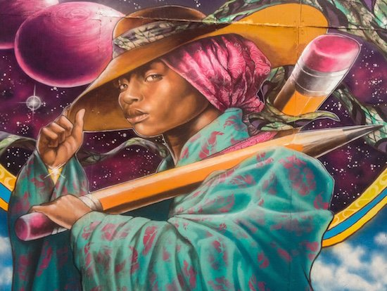 Mural by Aniekan. Courtesy of DC Alley Museum.