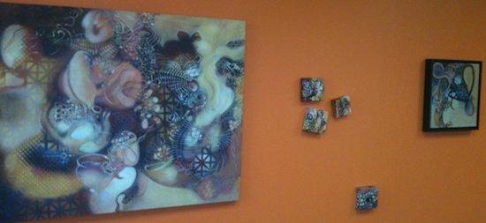 Paintings by DC artist Pat Goslee.