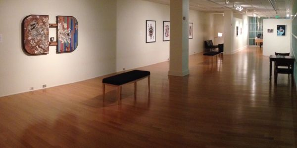Photo of The Stamp Gallery for East City Art by Eric Hope.