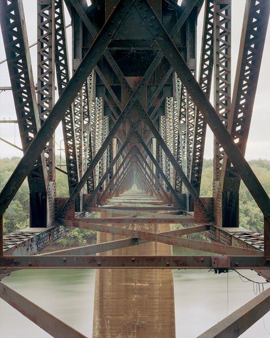 Adam Davies Norfolk Southern Potomac River Bridge, Shepherdstown, WV. Archival Pigment Print.