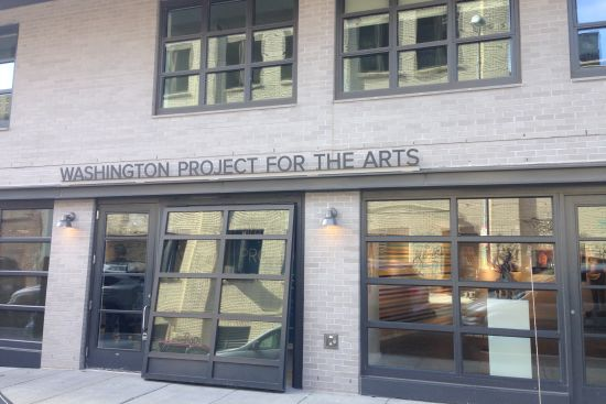 Washington Project for the Art's new offices and gallery.  Photo for East City Art by Eric Hope.