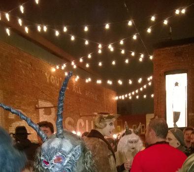 Gallery O on H Hosts Krampusnacht DC's 7th Annual Krampuslauf