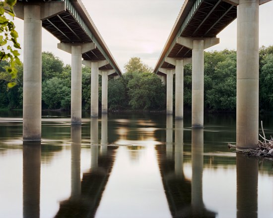 Adam Davies Interstate 81 Bridge, Potomac WV. Archival Pigment Print.