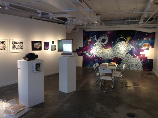 Other Worlds, Other Stories gallery view. Photo for East City Art by Eric Hope.