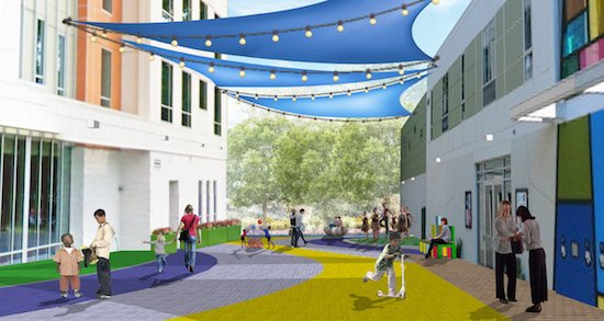 Arts Park rendering courtesy of Dance Place.