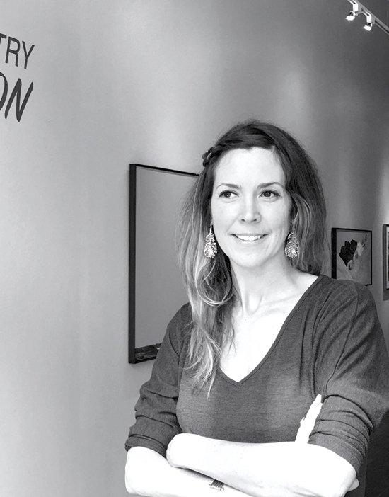 Juror Amy Cavanaugh Royce, Executive Director of Maryland Art Place.