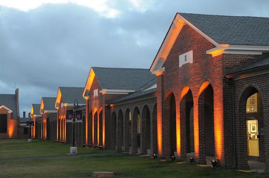 Photo of the Workhouse Arts Center via Wikimedia Commons.
