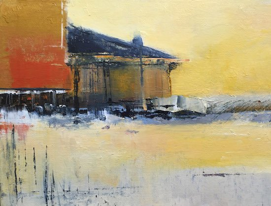 Awaiting the Storm by Colleen Sabo. Courtesy of Touchstone Gallery.