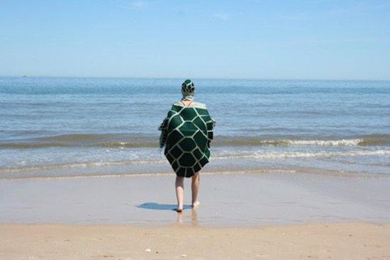 Virginia Warwick, Olivia the Sea Turtle Goes to the Beach, performance. Courtesy of VisArts.