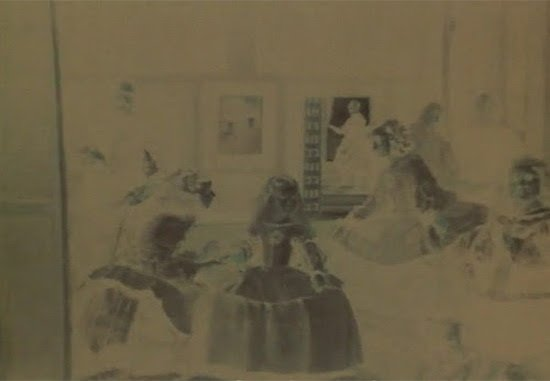 Juan Downey, Detail from The Looking Glass, 1981. Video still. Courtesy of the Estate of Juan Downey.