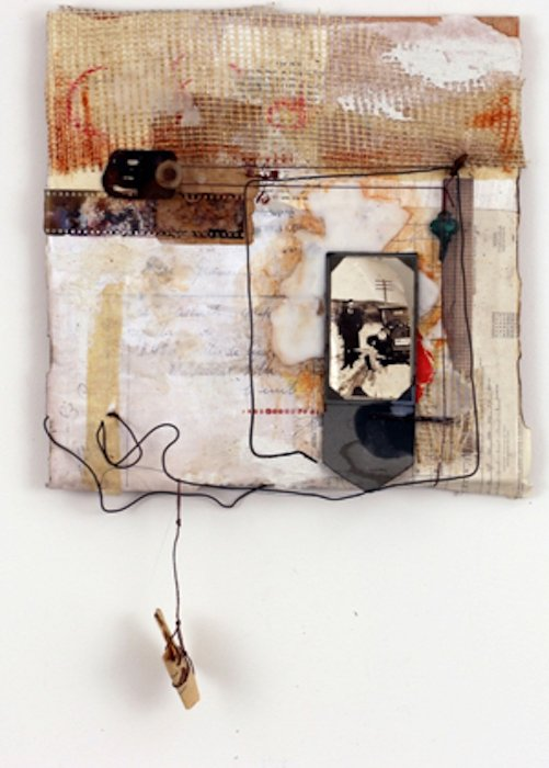 Think of Me Fondly by Rebecca Hurt. Courtesy of Foundry Gallery.