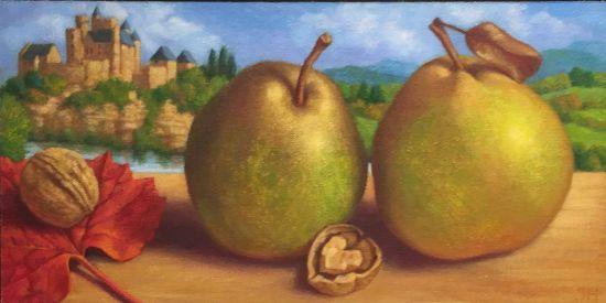 Pears, Beynac Sheila Harrington Photo for East City Art by Eric Hope.
