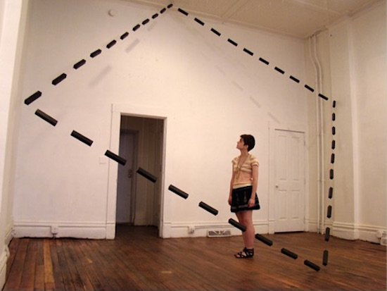 Wade Kramm, Dotted Plane, 2011. Courtesy of Target Gallery.