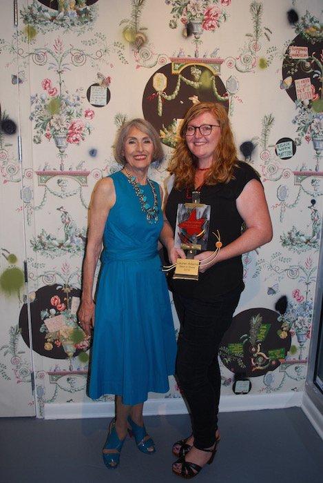 Carol Trawick & Lauren Adams. Photo courtesy of Bethesda Arts & Entertainment District.