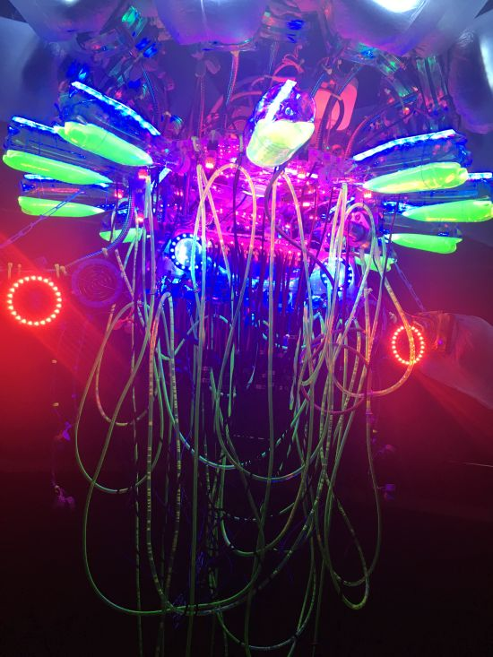 T-24-L, (detail) Shih Chieh Huang Photo for East City Art by Eric Hope.