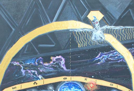 Latela Art Gallery Presents Dariana Arias LUMINARIUM: Cosmology, Celestial Mechanics & Eschatology