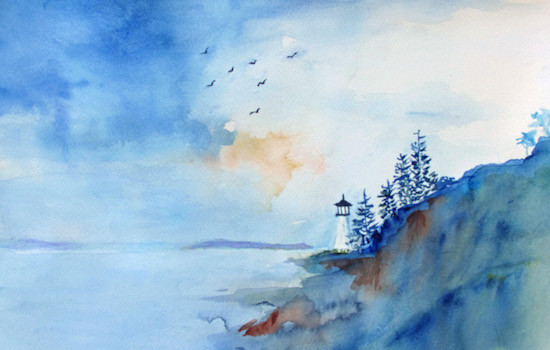 Foundry Gallery Presents Katherine Blakeslee Land and Sea
