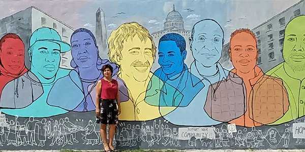 New Mural Shines Light on Mitch Snyder's Legacy