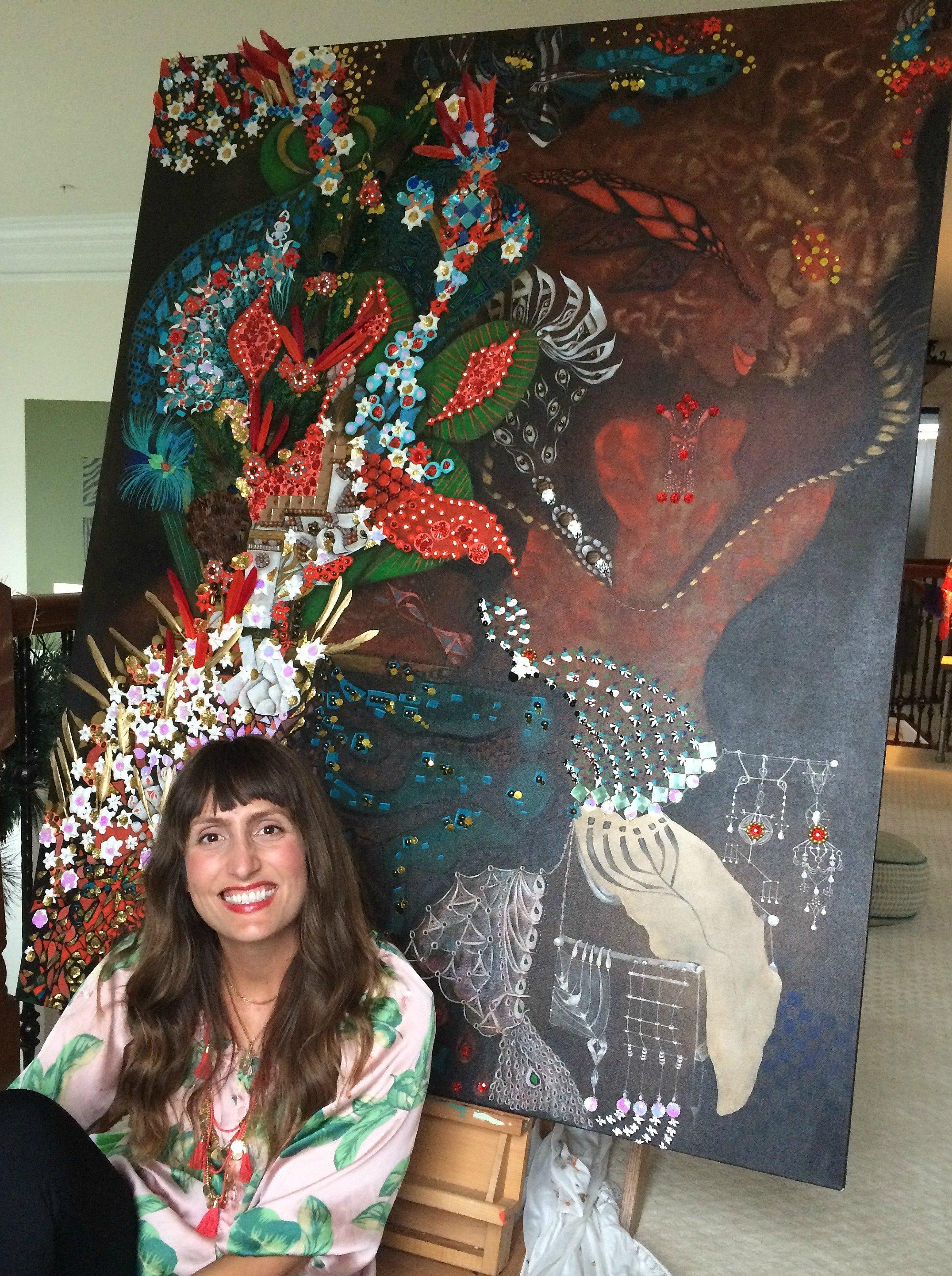 naomi christianson, artist, dc, md, painter, east city art