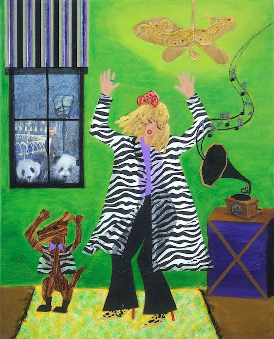 Like No Ones Watching by Jill Brantley. Courtesy of Touchstone Gallery.