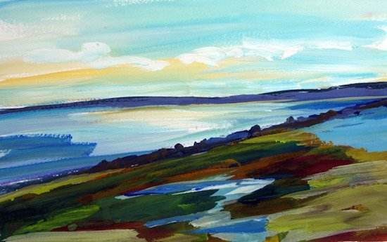 High Head Vista Provincetown by Kate McConnell. Courtesy of Touchstone Gallery.