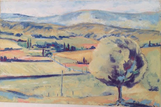 Luberon Valley by Martha Pope. Courtesy of Hill Center Galleries.