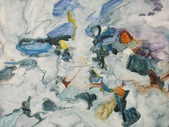 Ice Floes by Kim Thorpe. Photo credits: Kim Thorpe.
