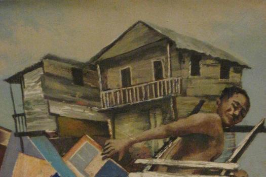 Carlo Valtrain at 1314 one/Half Gallery
