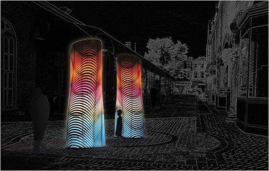 Resonant Stacks, ULR Studio and SHO Architecture, Pittsburgh/Gainesville, FL/Dubai UAE.